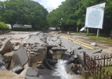 천안 태조산공원 재해복구공사 시작