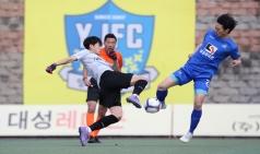 천안시축구단, 양주시민축구단과 0대0… 2R 2위